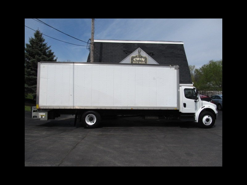 2015 Freightliner M2 106 Cummins Diesel Air Brakes 26' Box Tuck-under Lift