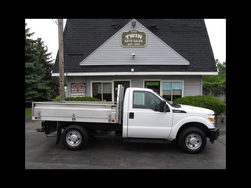 2013 Ford F-250 SD XL 2WD 8' Landscape Bed Drop Down Sides