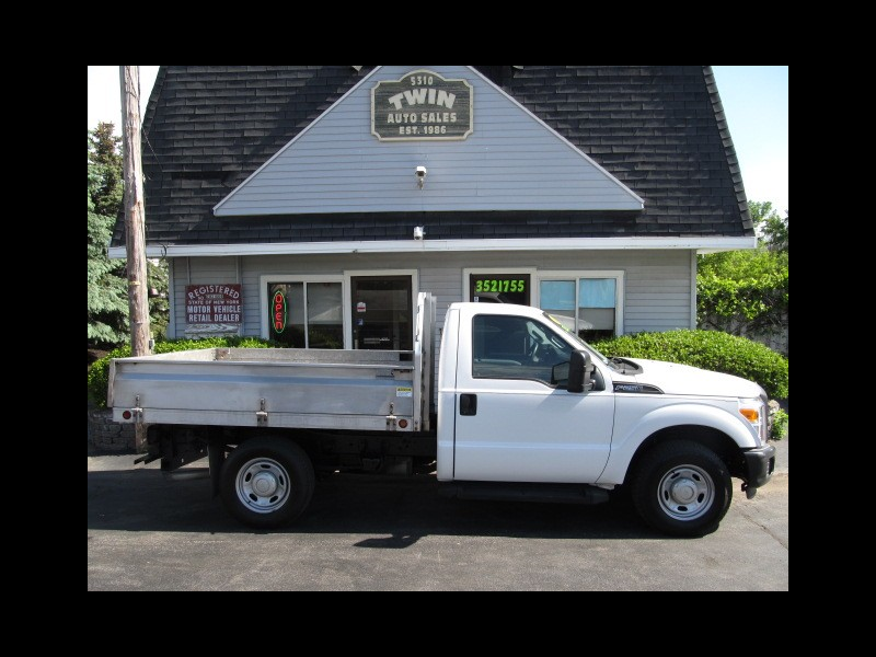 2013 Ford F-250 SD XL 2WD Regular Cab 8' Landscape Body Drop Down Sid