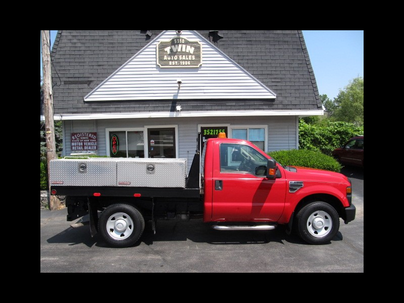 2008 Ford F-250 SD XLT 2WD Flatbed Body w/ Side Toolboxes