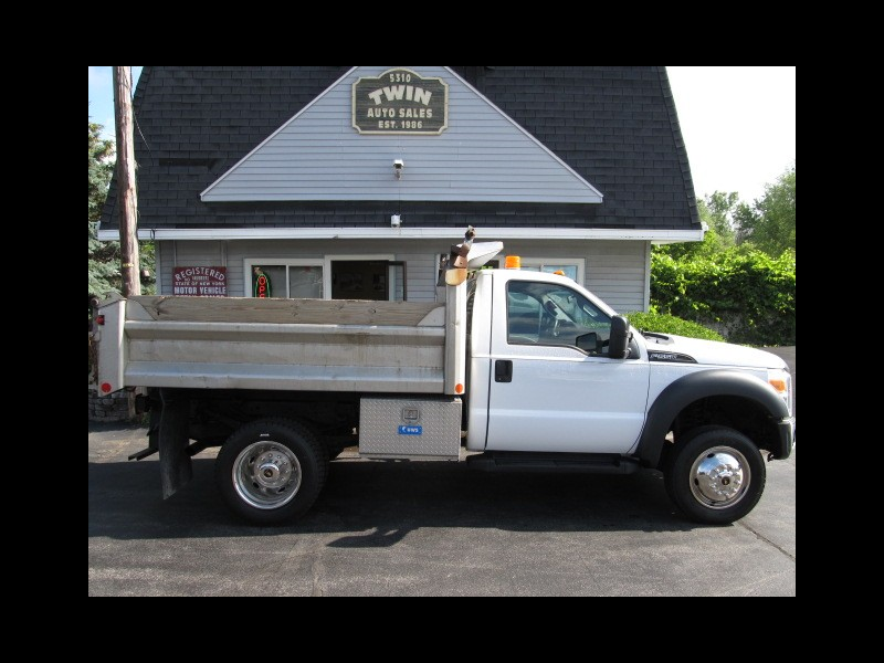 2013 Ford F-550 Regular Cab Dump Body DRW 2WD