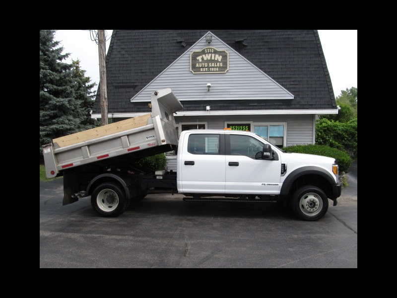 2017 Ford F-550 4x4 Crew Cab DRW Rugby SS Dump