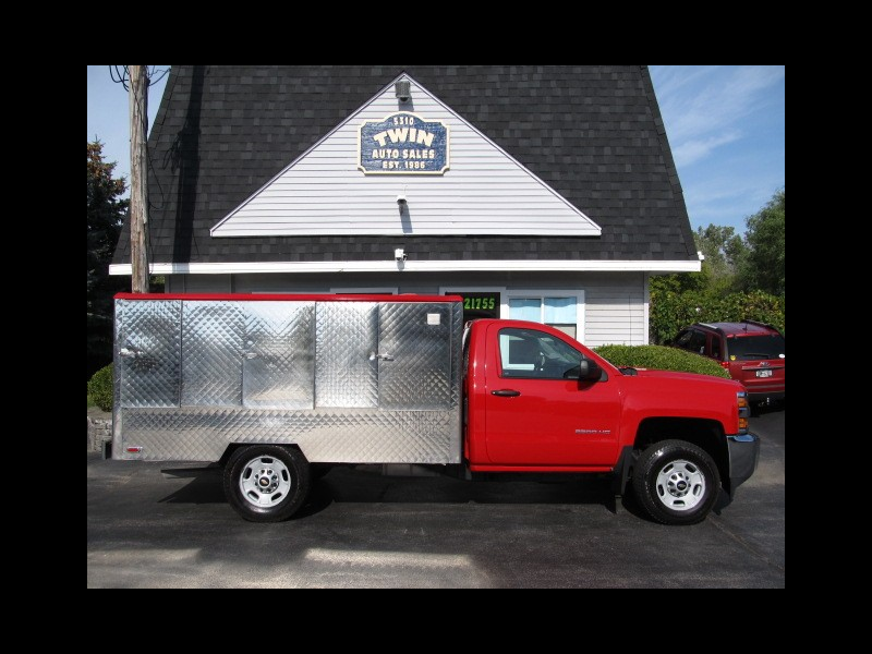 2015 Chevrolet Silverado 2500HD Food Service Truck Hot/Cold/Beverage Sections SRW