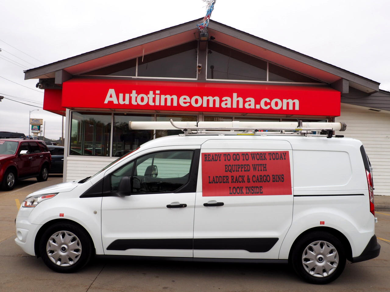 Ford Transit Connect Cargo Van XLT LWB w/Rear 180 Degree Door 2016