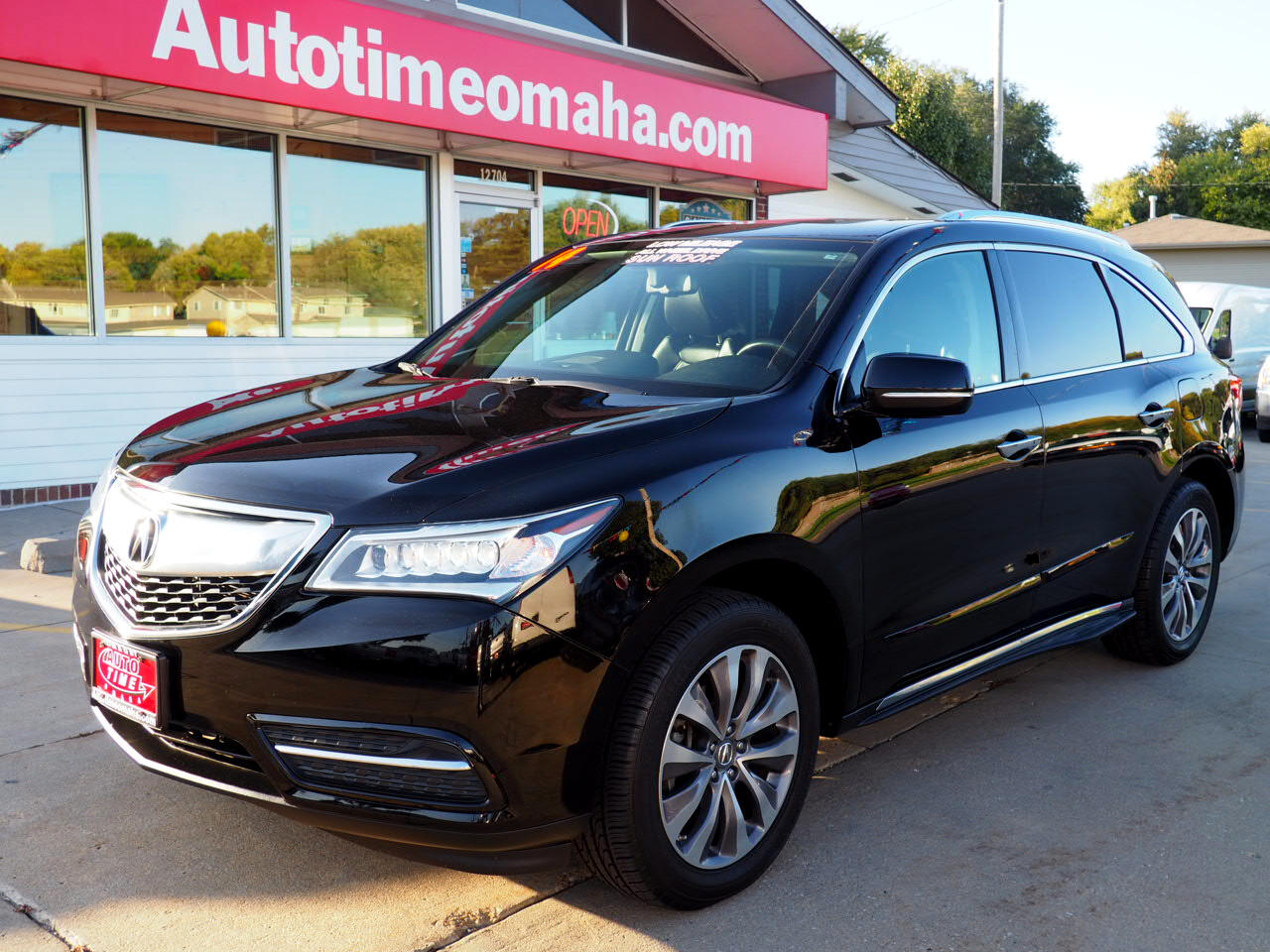 Acura MDX Tech Package with Power Tailgate 2014