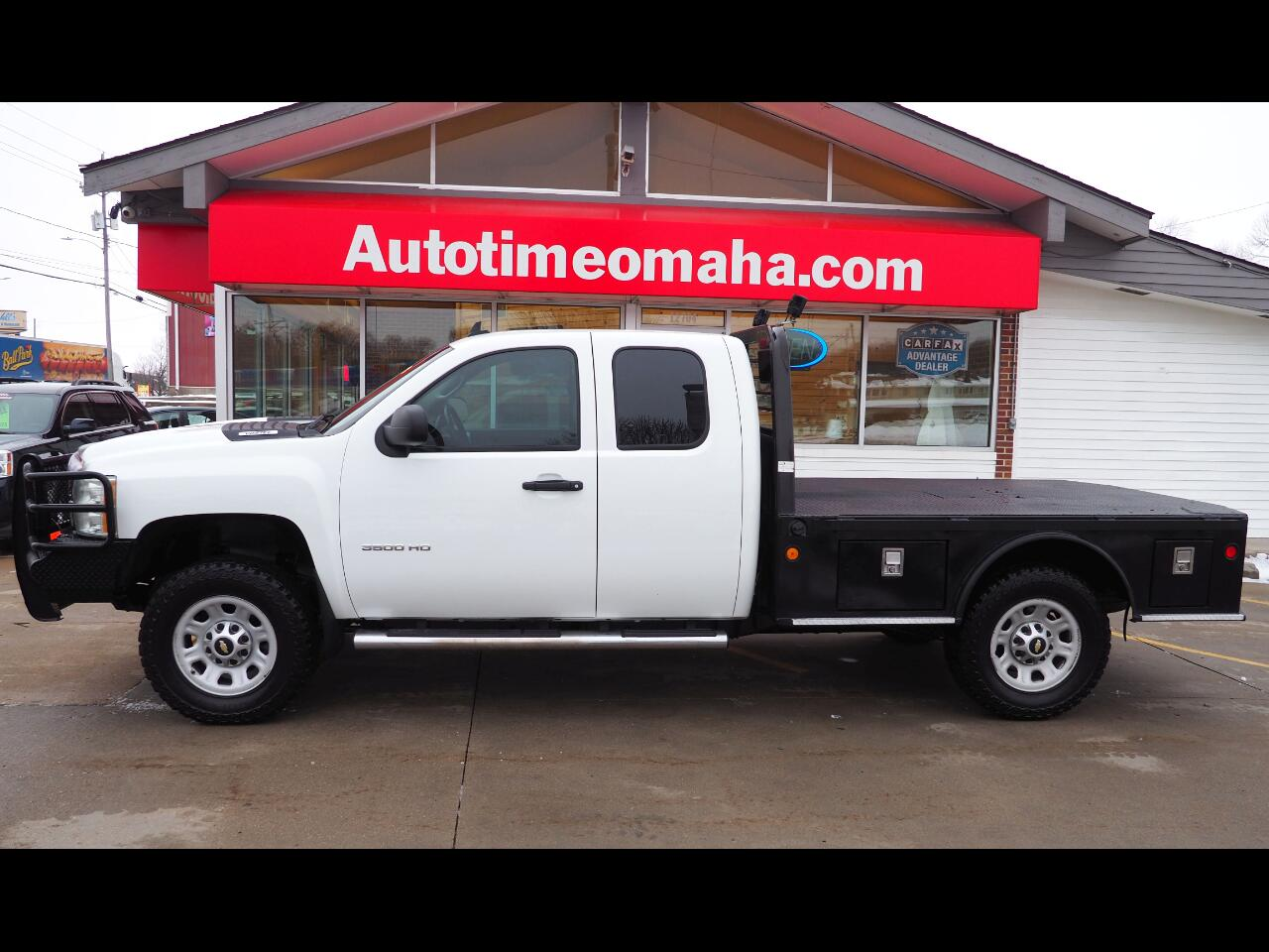 Chevrolet Silverado 3500HD Work Truck Ext. Cab Long Box 4WD 2012