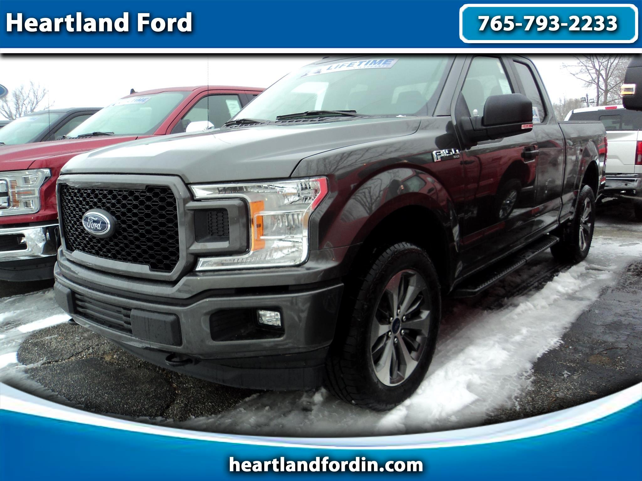 2019 Ford F-150 STX SuperCab 6.5-ft. Bed 4WD