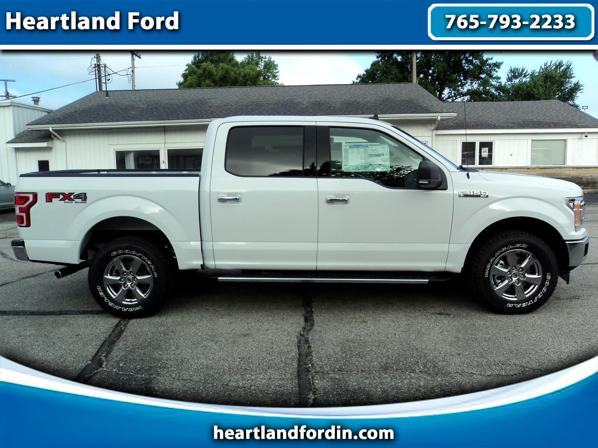 "2019 Ford F-150 4WD SuperCrew 145"" XLT"