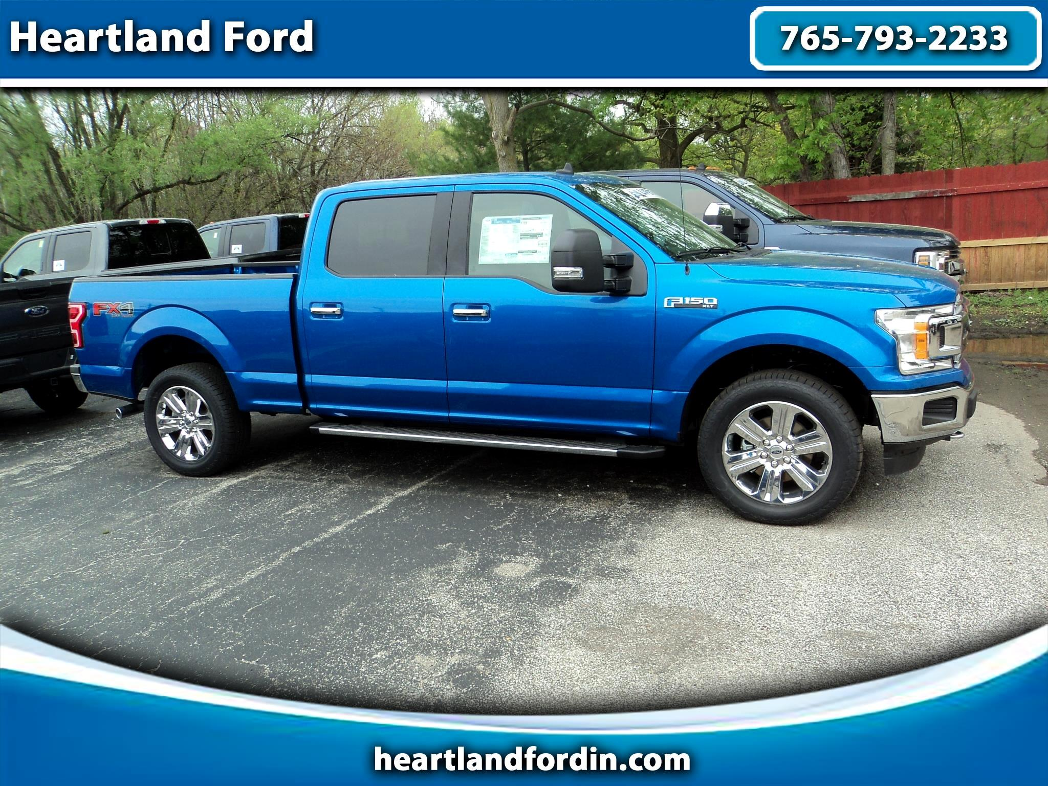 "2019 Ford F-150 4WD SuperCrew 157"" XLT"