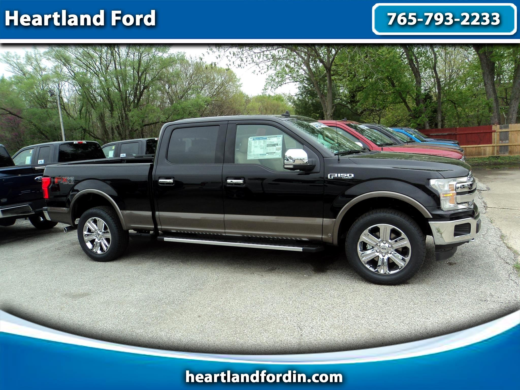 "2019 Ford F-150 4WD SuperCrew 157"" Lariat"