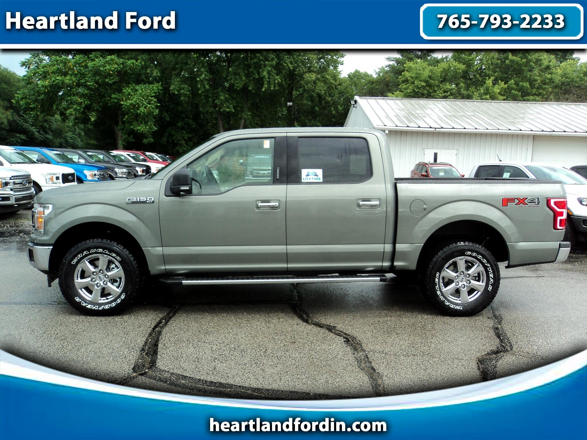 2019 Ford F-150 XLT SuperCrew Short Bed 4WD