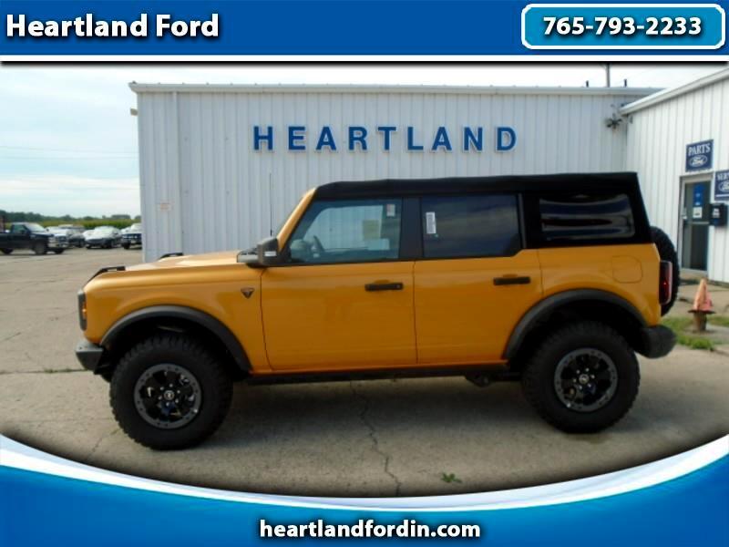 2021 Ford Bronco Badlands 4 Door Advanced 4x4