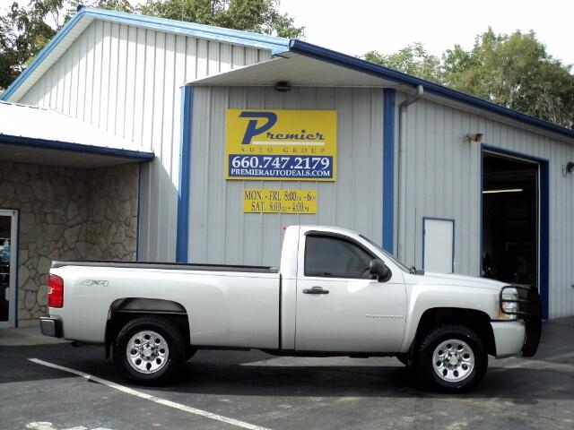 2010 Chevrolet Silverado 1500 LS Long Bed 4X4
