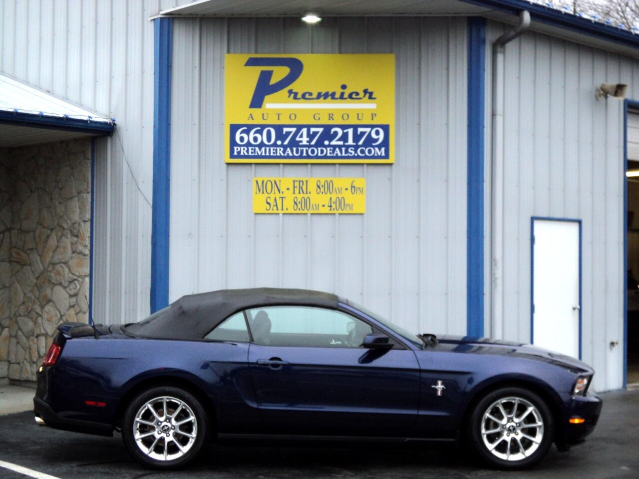 2010 Ford Mustang 2dr Conv V6