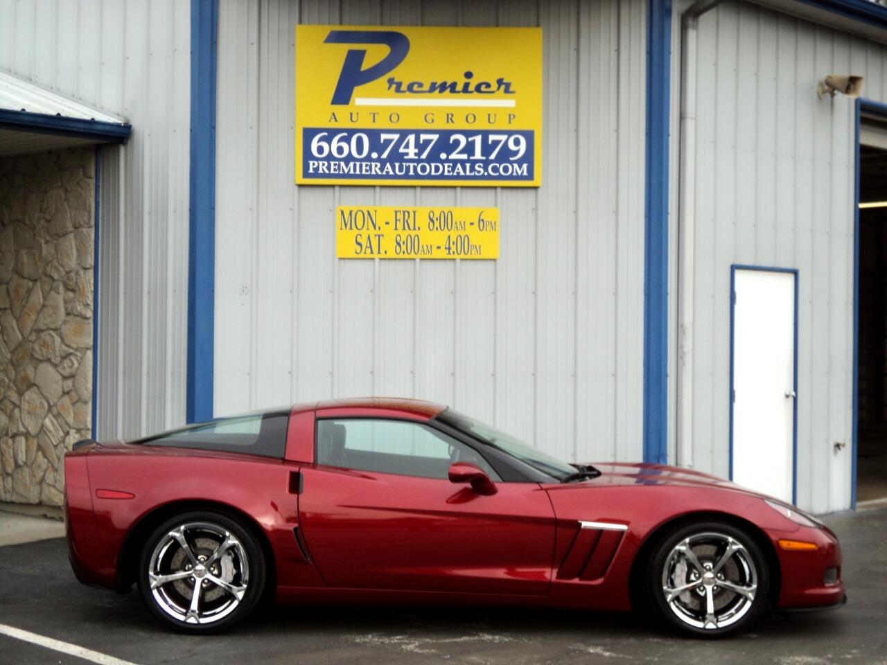 2012 Chevrolet Corvette 2dr Cpe Z16 Grand Sport w/3LT