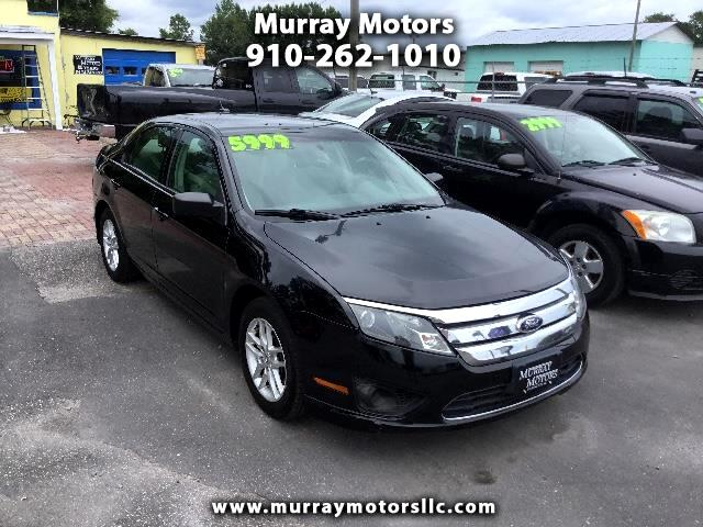 2012 Ford Fusion 4dr Sdn I4 S FWD