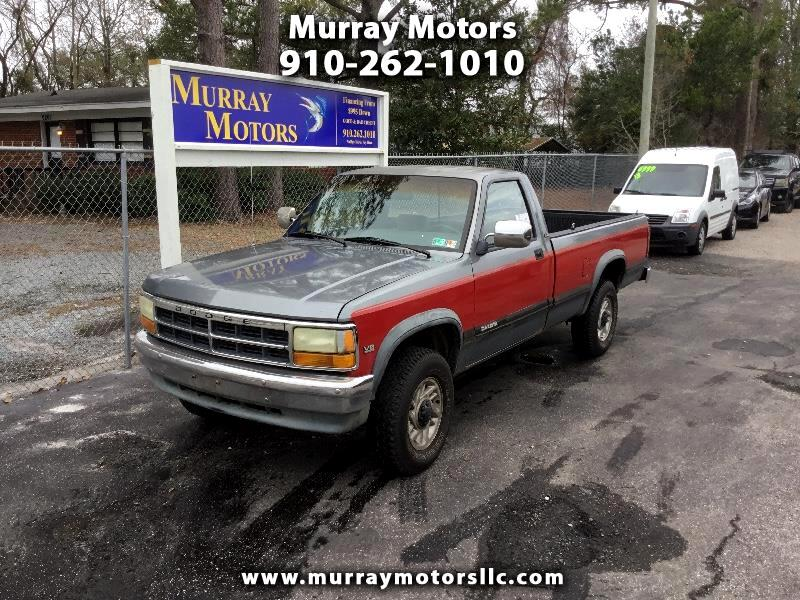 1992 Dodge Dakota Sport Reg. Cab 6.5-ft. Bed 4WD