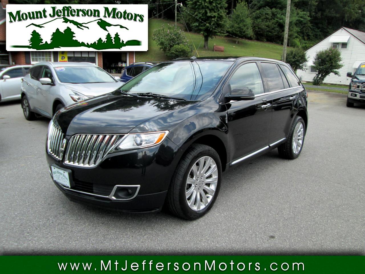 2013 Lincoln MKX Premier AWD