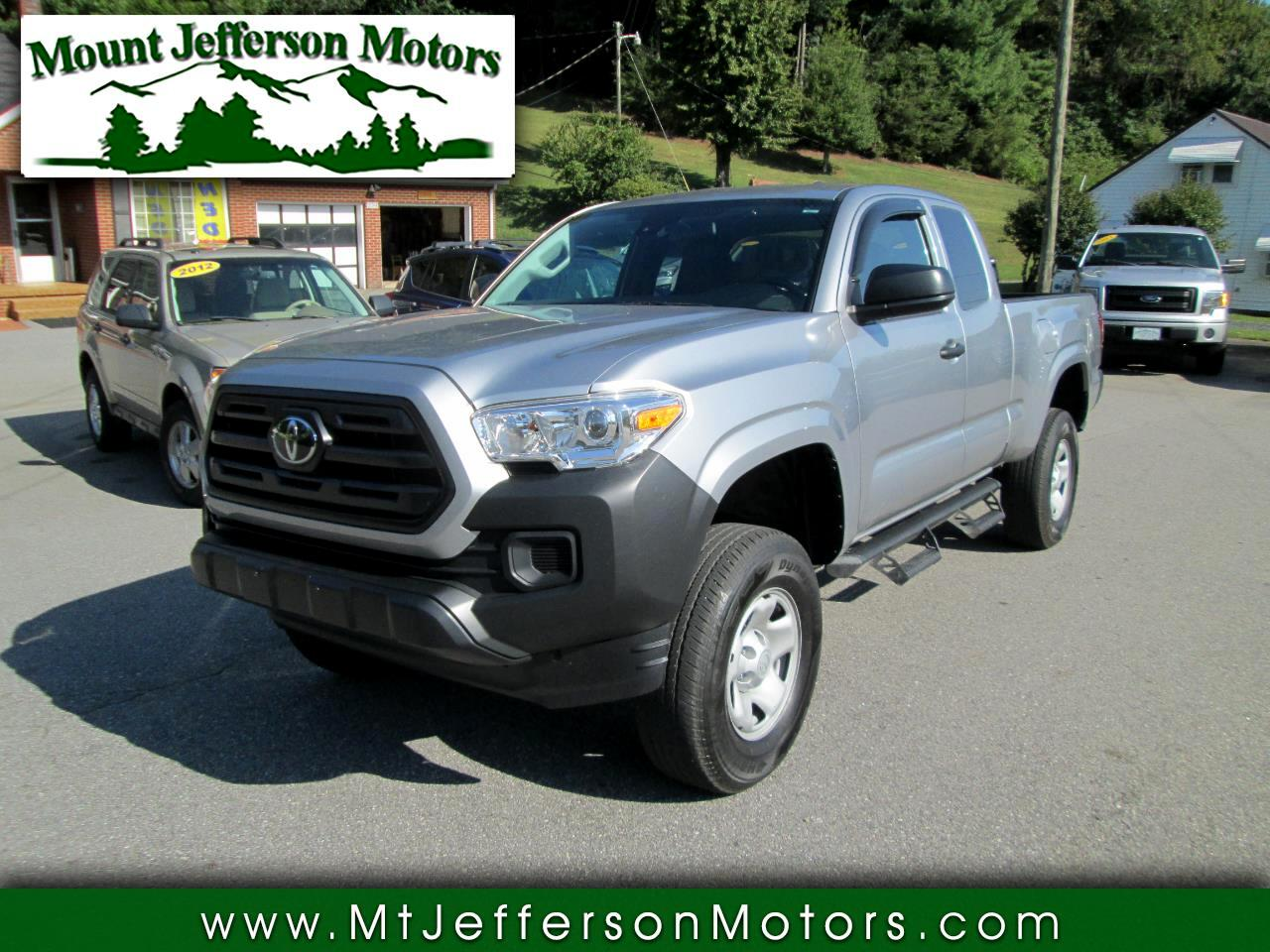 Toyota Tacoma 4WD Access Cab I4 AT SR (Natl) 2019