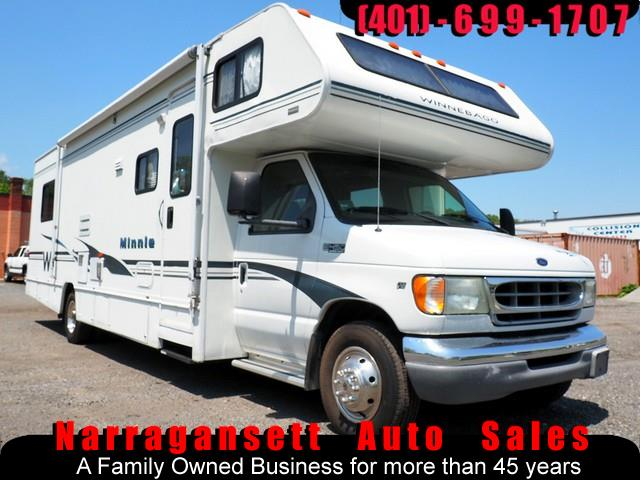 2002 Ford E450 29' Minnie Winnie Class C Super Slide-Out Sleeps 8