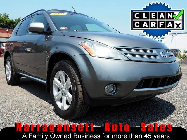 2007 Nissan Murano SL AWD V-6 Auto Full Power Leather Moonroof