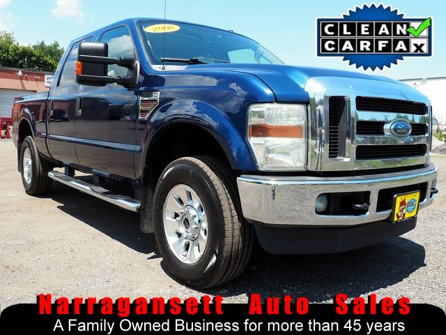 2008 Ford F-250 SD XLT Lariat 4X4 SuperCrew Diesel Leather Moonroof