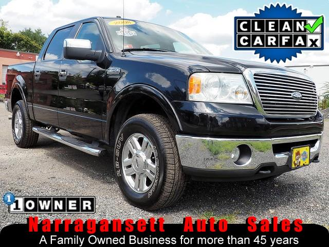 2008 Ford F-150 XLT Lariat 4X4 SuperCrew Leather Moonroof 1-Owner