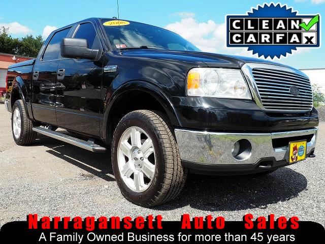 2008 Ford F-150 XLT Lariat 4X4 SuperCrew Leather Moonroof