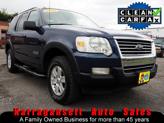 2007 Ford Explorer XLT 4X4 V-6 Auto Air Full Power Only 106K