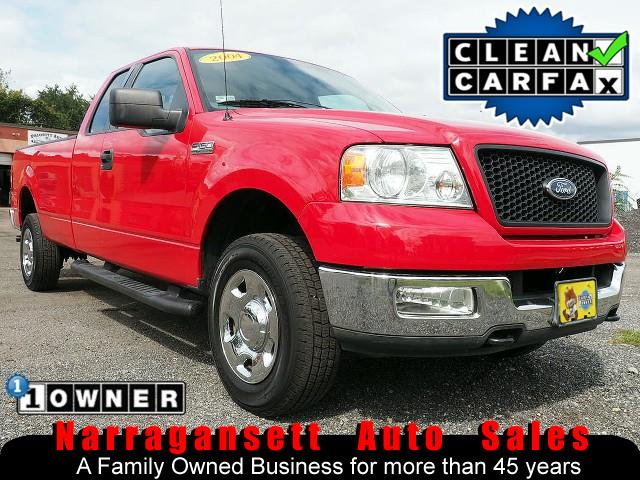 2004 Ford F-150 XLT 4X4 SuperCab V-8 Auto 8FT Bed 1-Owner 104K