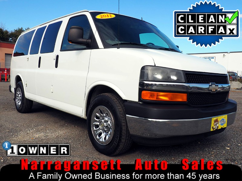 2012 Chevrolet Express 1500 Cargo Van V-8 Auto Air Full Power 1-Owner