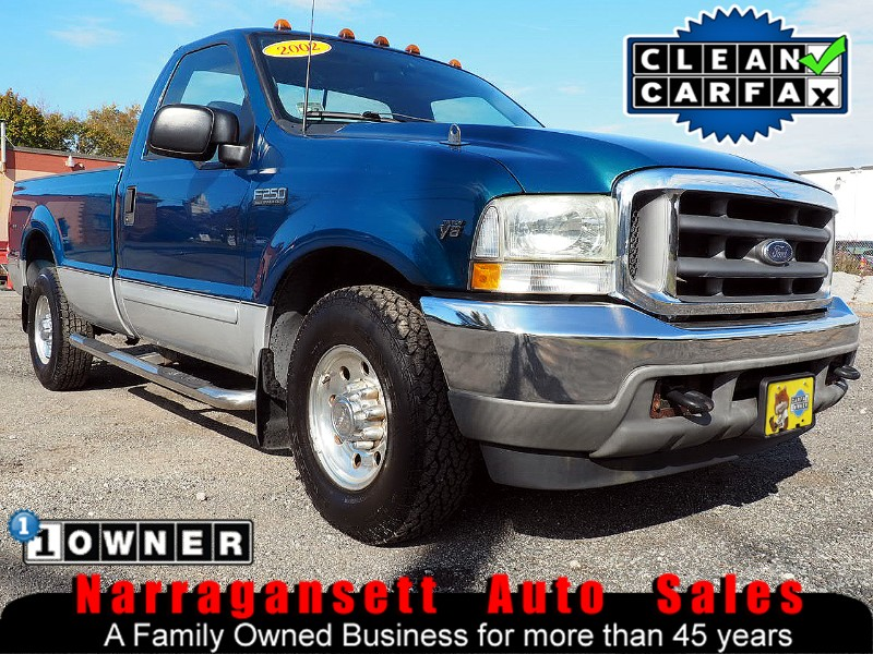 2002 Ford F-250 SD Super Duty V-8 Auto Air Full Power 1-Owner 77K