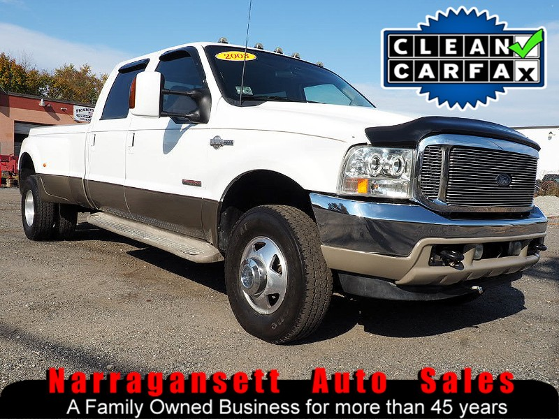 2003 Ford F-350 SD Crew Cab 4X4 Diesel Dually King Ranch No Rust