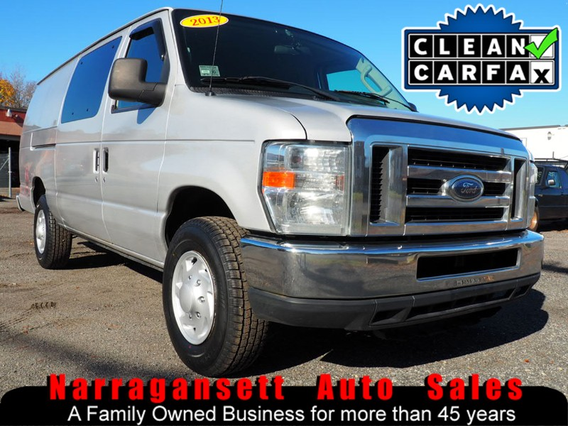 2013 Ford E350 Extended Body Cargo Van V-8 Auto Full Power
