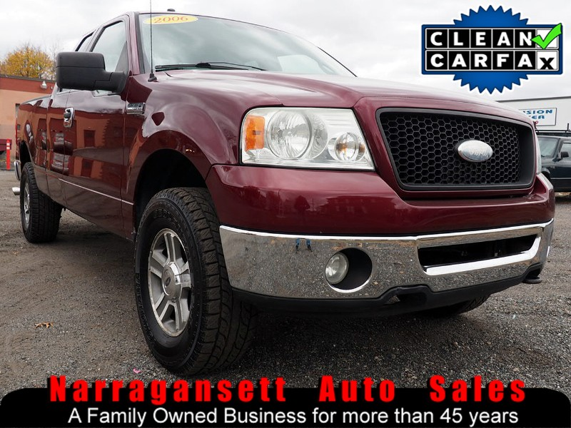 2006 Ford F-150 XLT 4X4 SuperCab V-8 Auto Air Full Power