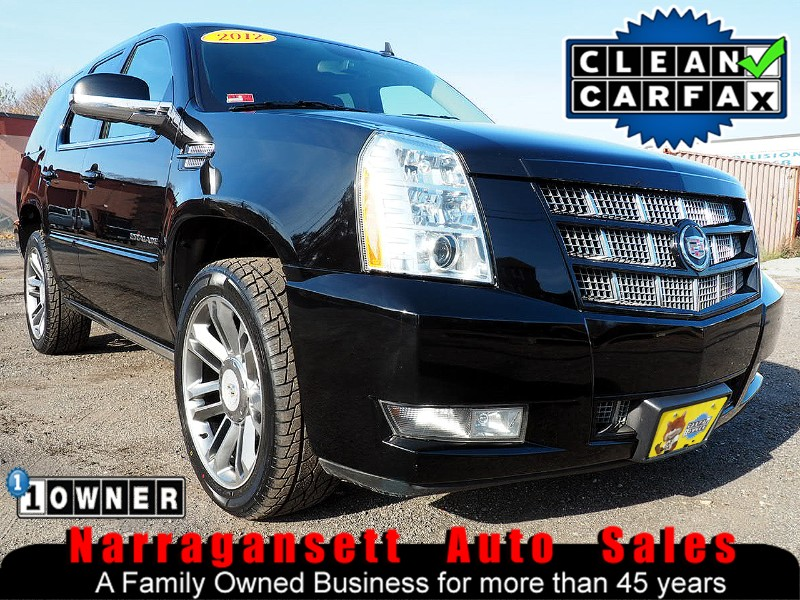 2012 Cadillac Escalade Premium Fully Loaded Black on Black 1-Owner