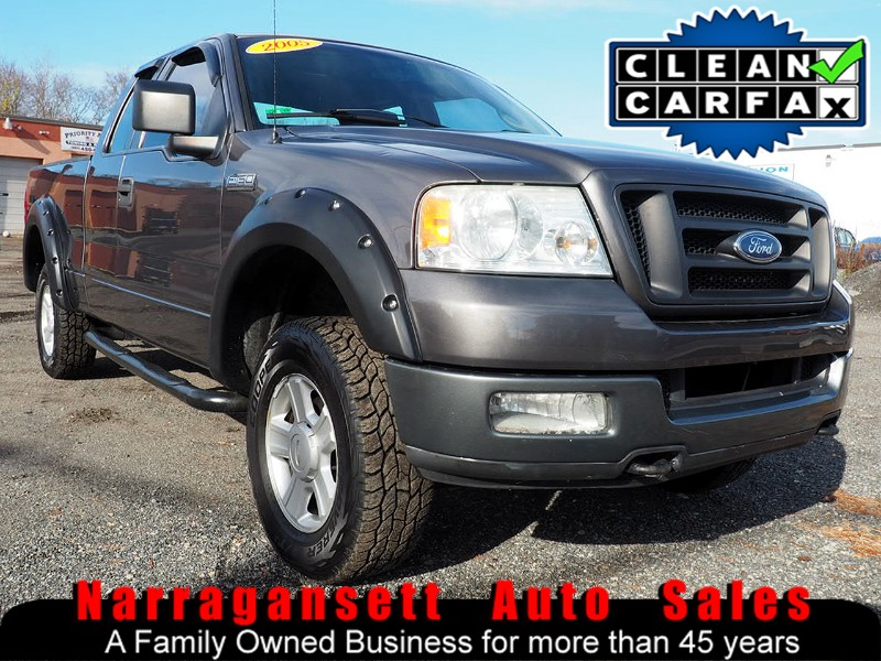 2005 Ford F-150 4X4 SuperCab V-8 Auto Air Off Road Package