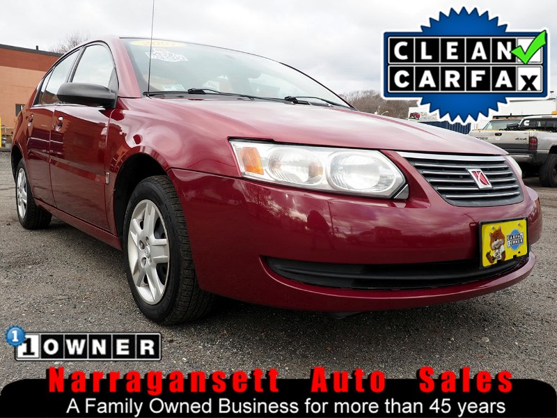 2007 Saturn ION Auto Air Full Power 1-Owner 123K Like New