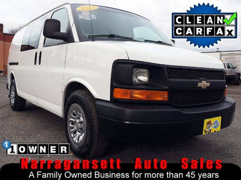 2011 Chevrolet Express 1500 All Wheel Drive Divider Shelf+Bin PKG 1-Owner