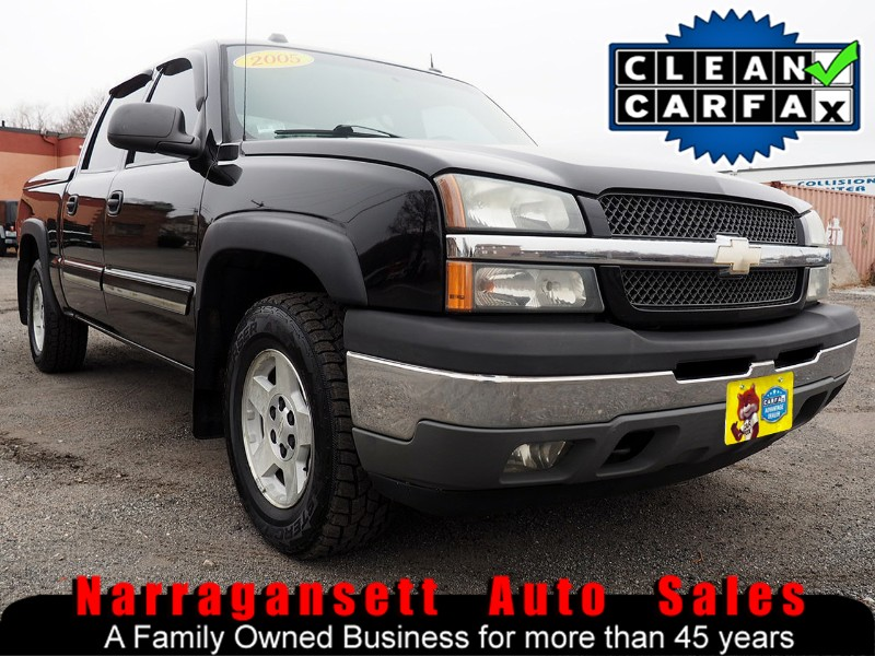 2005 Chevrolet Silverado 1500 4X4 Crew Cab Z-71 Leather Moonroof Super Nice