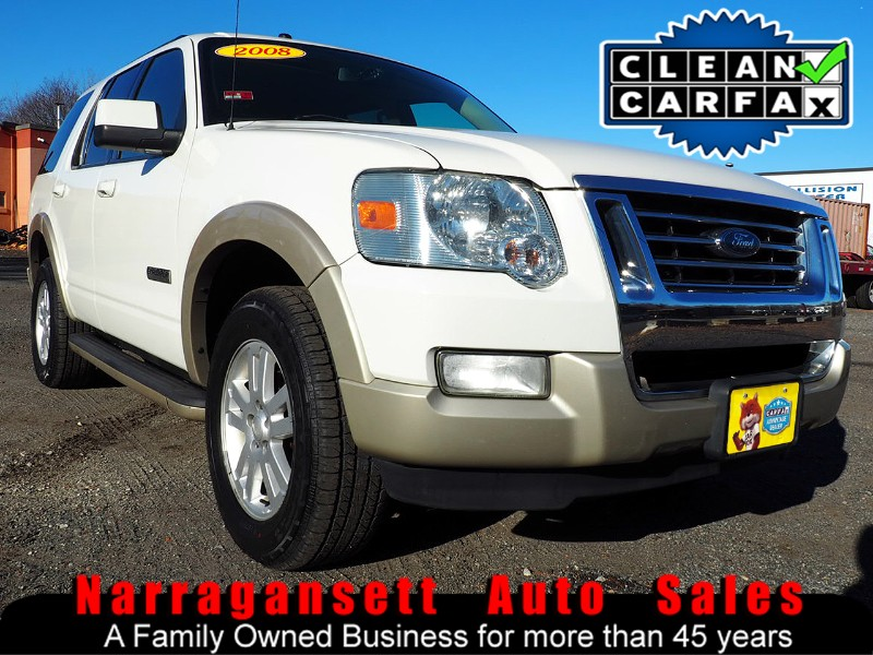 "2008 Ford Explorer ""Eddie Bauer"" 4X4 6-Cylinder Leather Moonroof"