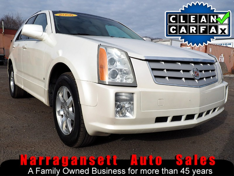 2006 Cadillac SRX AWD Leather Glass Panoramic Roof Pearl White 138K