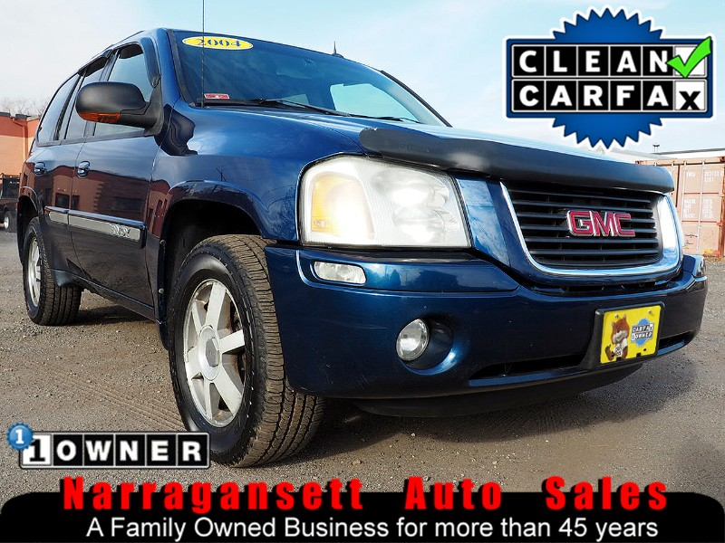 2004 GMC Envoy SLT 4X4 6-Cyl Auto Fully Loaded Leather 1-Owner
