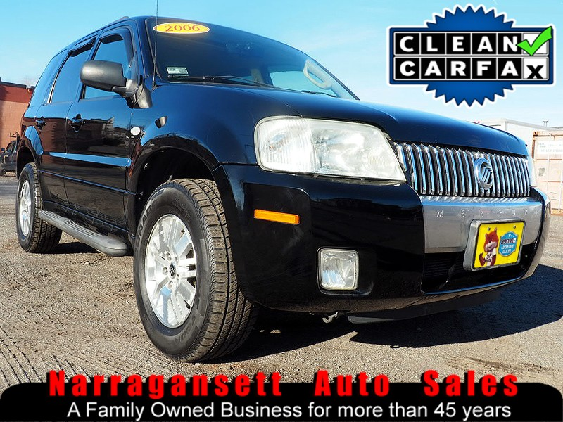 2006 Mercury Mariner Premier 4X4 V-6 Auto Full Power Moonroof Only 57K