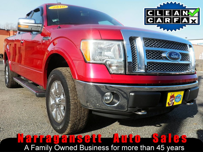 2010 Ford F-150 XLT Lariat 4X4 SuperCab Leather Moonroof NAV