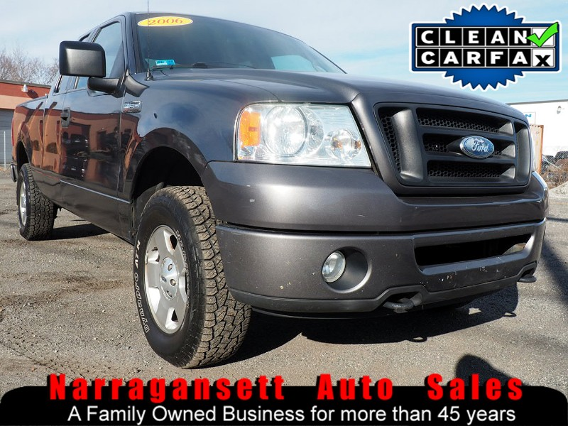 2006 Ford F-150 SuperCab 4X4 V-8 Auto Air Only 98K No Rust