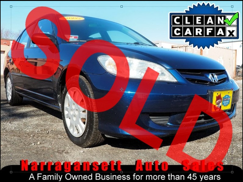 2005 Honda Civic LX Auto Air Full Power Only 119K Super Nice