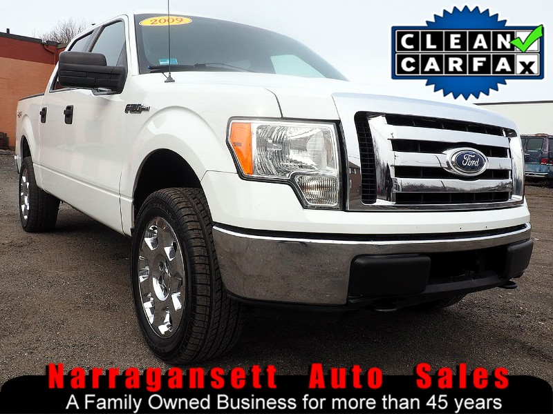 2009 Ford F-150 XLT 4X4 SuperCrew Auto Air Full Power Super Clean
