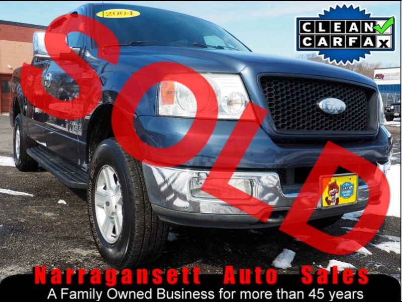 2004 Ford F-150 XLT 4X4 SuperCrew Fully Loaded Leather 154K