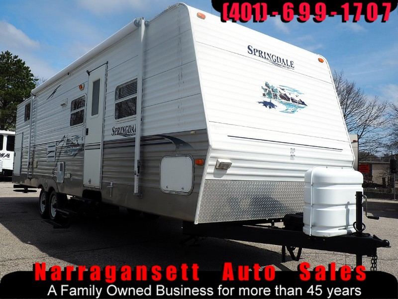 2006 Keystone Springdale 29' Slide-Out Quad Bunks Front Queen Sleeps 10